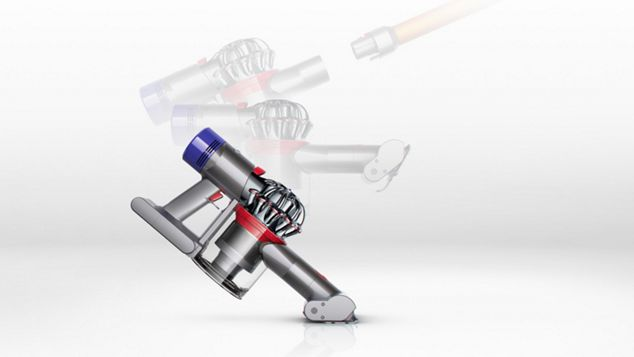 The Dyson V8 Absolute transforms to a handheld in one click